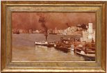 Alternate image of An autumn morning, Milson's Point, Sydney by Tom Roberts