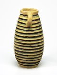 Alternate image of Vase with striped design by Anne Dangar