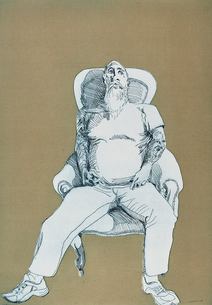 An image of Kenny by Ben Quilty