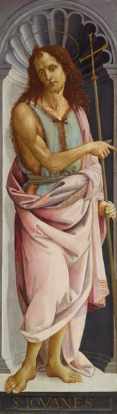 An image of Saint John the Baptist by Bartolomeo di Giovanni