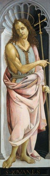 An image of Saint John the Baptist by Bartolomeo di Giovanni