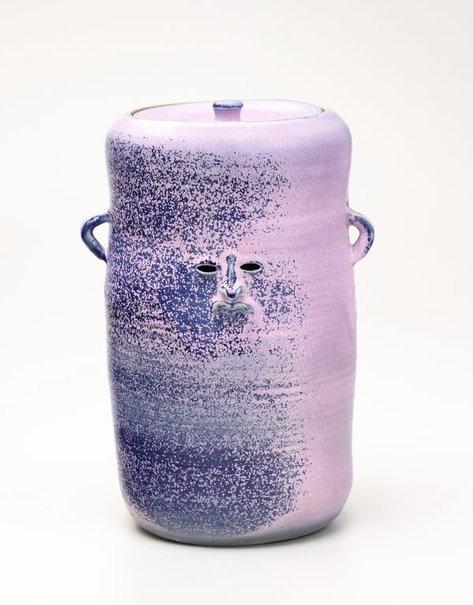 An image of Purple urn by Francis Upritchard