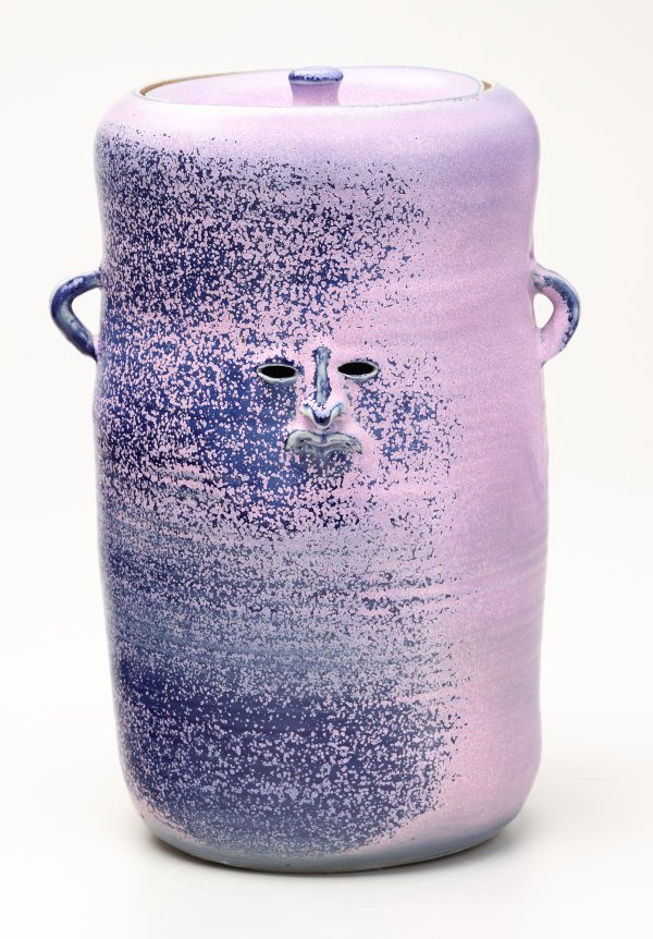 An image of Purple urn