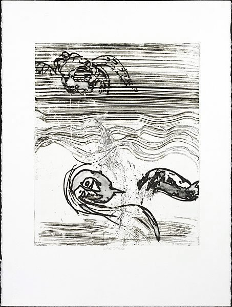 An image of Swimmer by Arthur Boyd