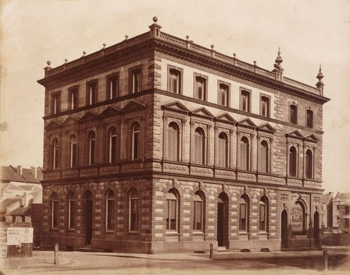 An image of Victoria Insurance Company building, 79 Pitt street, Sydney by Charles Bayliss