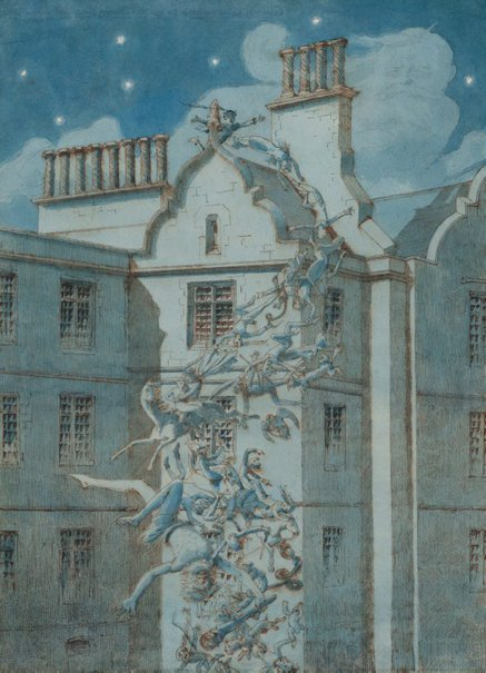 An image of The spirits of the prisoners by Charles Altamont Doyle