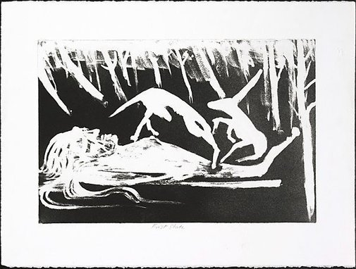 An image of The lady of the forest by Arthur Boyd
