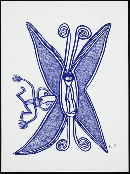 An image of Bataplai i mekim poret wanpela man by Akis