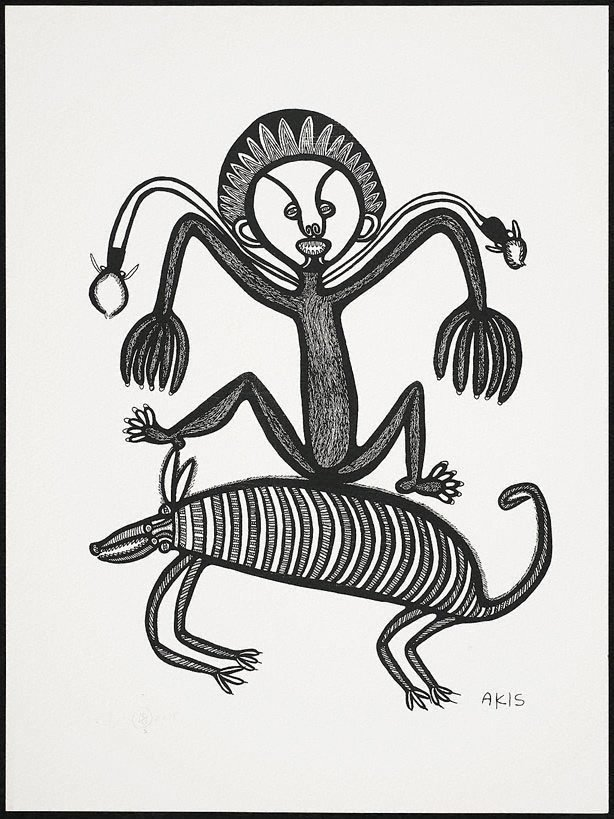 An image of Man, pik na tupela sinek