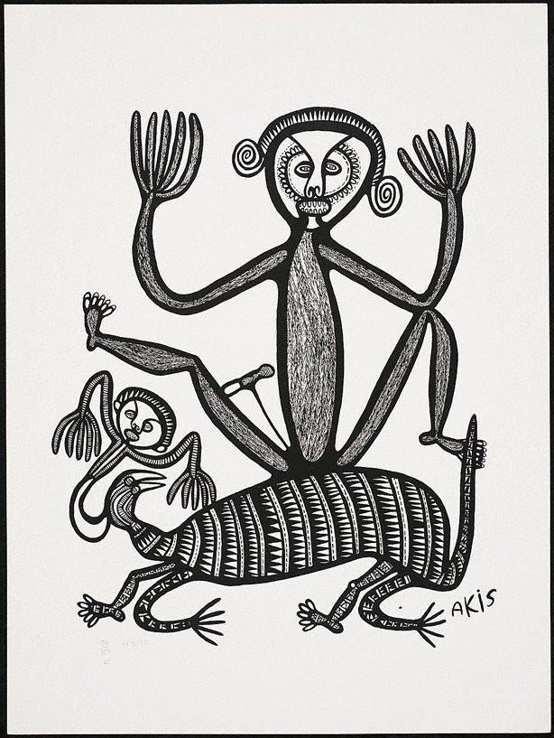 An image of Man, dok na pikinini devel
