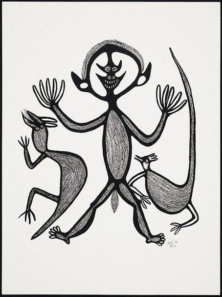 An image of Man, na tupela magani by Akis
