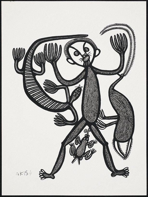 An image of Muruk, tangi na palai oi i poretim wanpela man