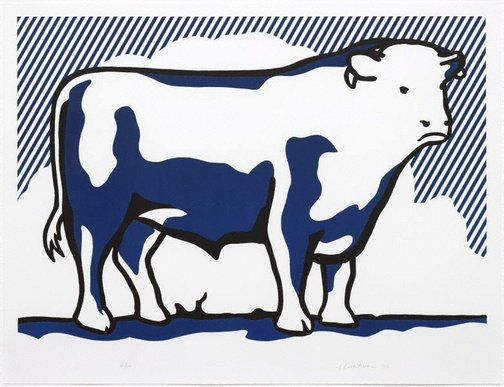 An image of Bull II by Roy Lichtenstein