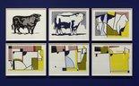 Alternate image of Bull IV by Roy Lichtenstein