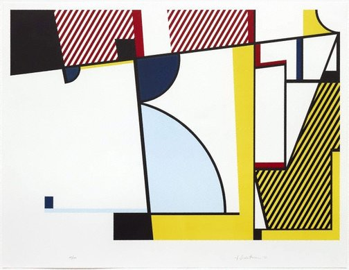 An image of Bull V by Roy Lichtenstein
