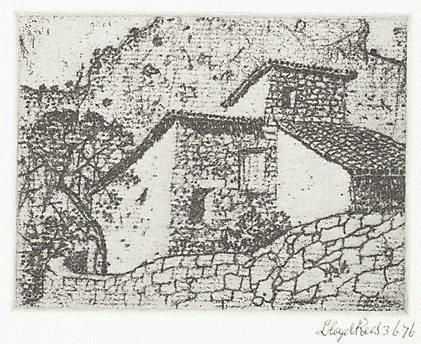 An image of Farm house, Majorca by Lloyd Rees