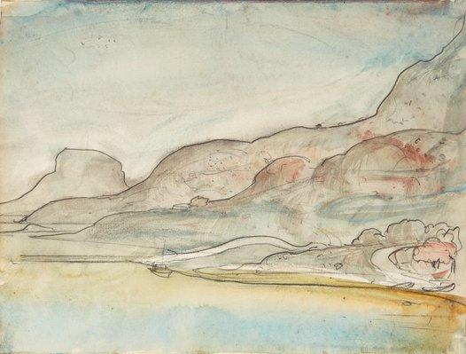 Alternate image of Sketchbook no. 4: Italy, Malta, Austria, France, Greece, Suez Canal 1959 by Lloyd Rees