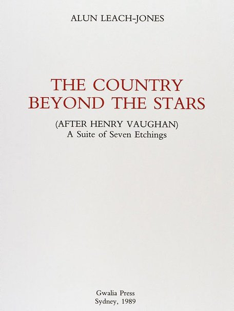 An image of Title page - The country beyond the stars (after Henry Vaughan) by Alun Leach-Jones