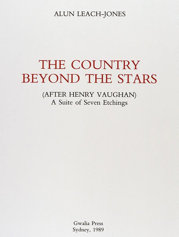 An image of Title page - The country beyond the stars (after Henry Vaughan)