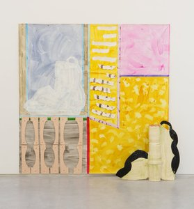 The yellow room, (2015) by Betty Woodman
