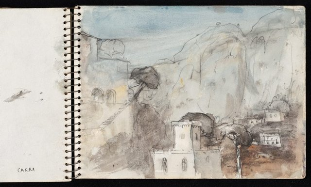 An image of Sketchbook no. 5: Europe and Australia 1954-1960