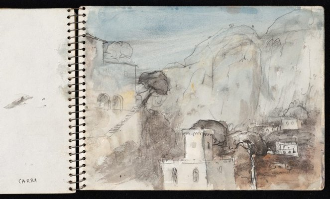 Alternate image of Sketchbook no. 5: Europe and Australia 1954-1960 by Lloyd Rees