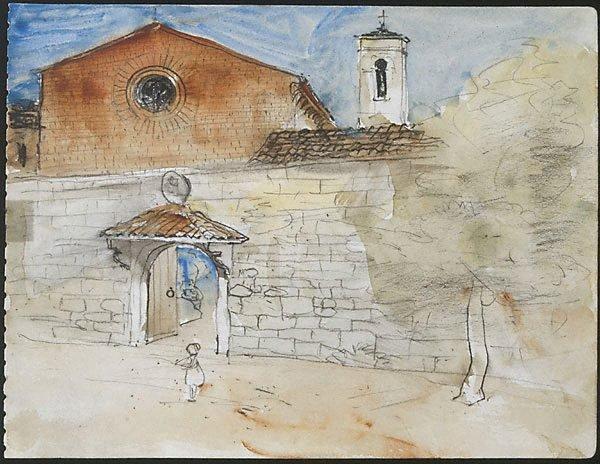 An image of Sant' Agostino, San Gimignano