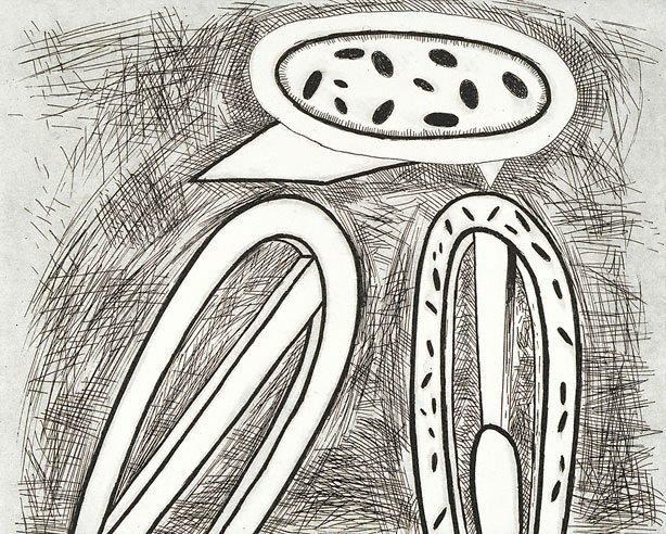 An image of Welsh sketchbook