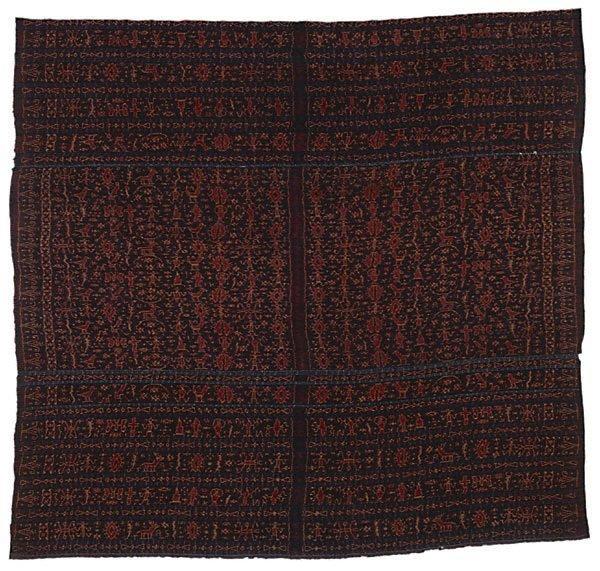 An image of woman's skirtcloth ('lawo redu')