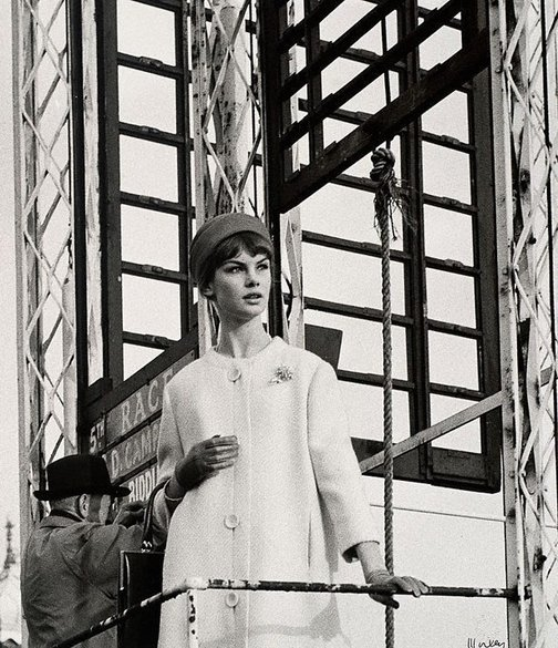 An image of Jean Shrimpton by Lewis Morley