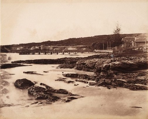 An image of Watsons Bay by Charles Bayliss
