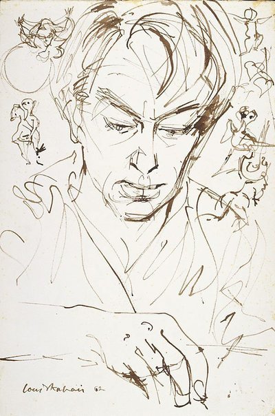 An image of John Perceval by Louis Kahan