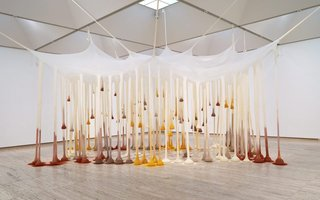 AGNSW collection Ernesto Neto Just like drops in time, nothing 2002