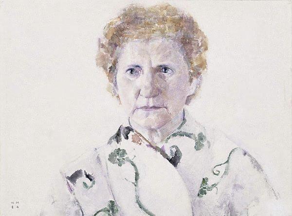 An image of Eleni Mourtzakis (The artist's mother)
