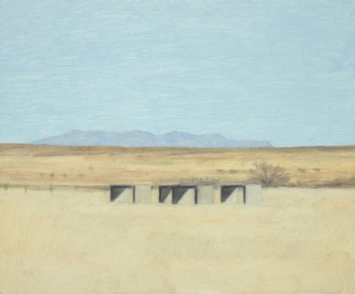 An image of Marfa field by Eleanor Ray