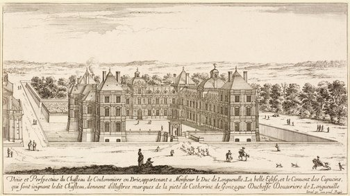 An image of The Chateau of Coulommiers by Israel Silvestre