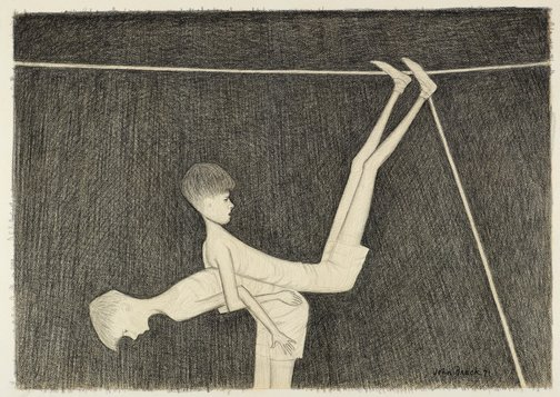 An image of Study for 'Back to back' by John Brack