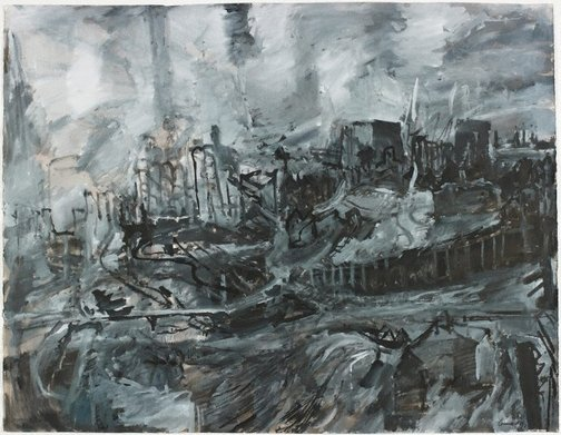 An image of Pyrmont (view to Blackwattle Bay) by Kevin Connor