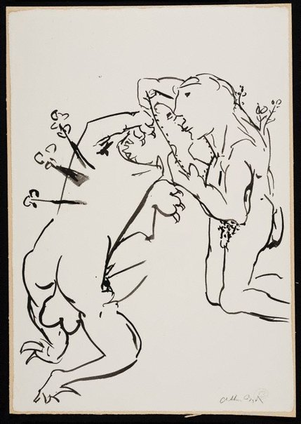 An image of (Illustration for 'Jonah' p.104) by Arthur Boyd