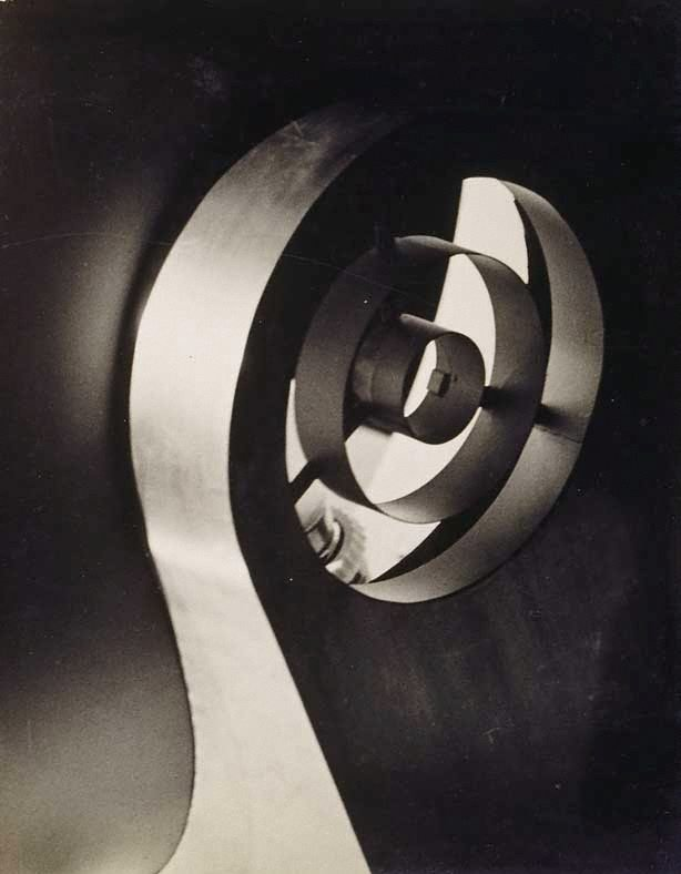 Curved steel, (circa 1947) by Lawrence Collings