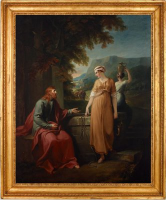 Alternate image of Christ and the woman of Samaria by William Hamilton