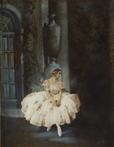 An image of Untitled (Pavlova seated) by Monte Luke