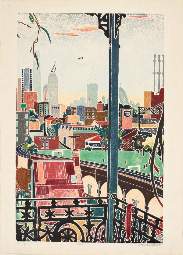 Glebe, (1985) by Cressida Campbell