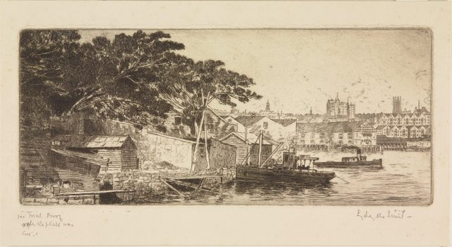 An image of Darling Harbour from Balmain
