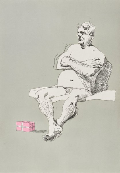 An image of Lloydy by Ben Quilty