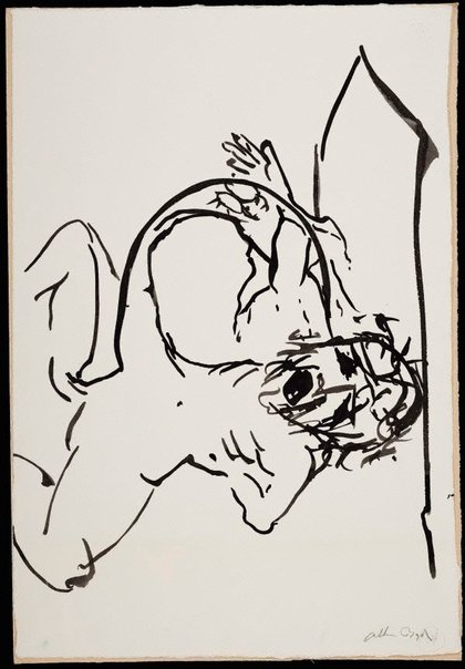 An image of (Illustration for 'Jonah' p.105) by Arthur Boyd