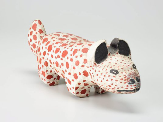 Alternate image of Dreamtime pup by Ruby Kngwarreye