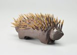Alternate image of Echidna by Lucky Kngwarreye