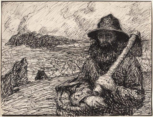An image of Le pêcheur Polite, Belle-Île