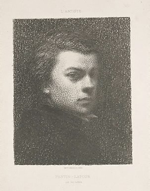 An image of Portrait of Fantin at seventeen years
